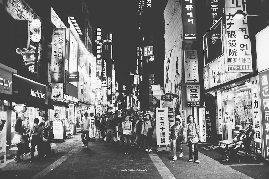Seoul Town Lights Korea Shelby Brakken Photography